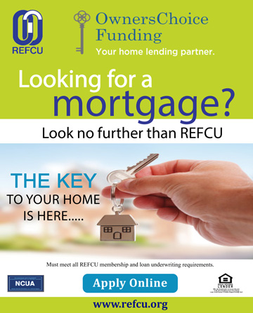 Looking for a Mortgage? Look no farther then REFCU